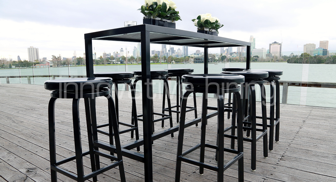 Features: Bench Bars & Marine Stools