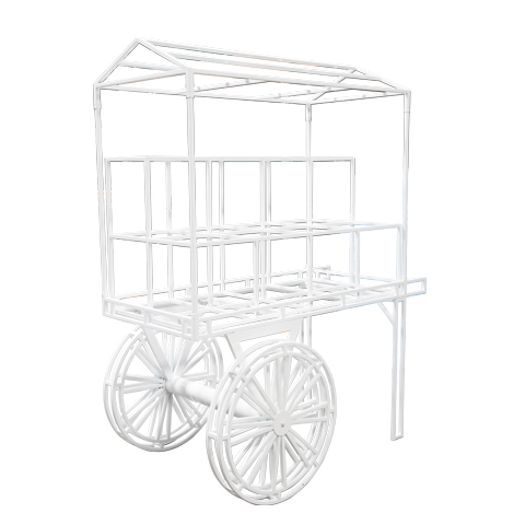 Wire Flower Cart