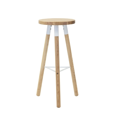 Scandi Natural Bar Stool