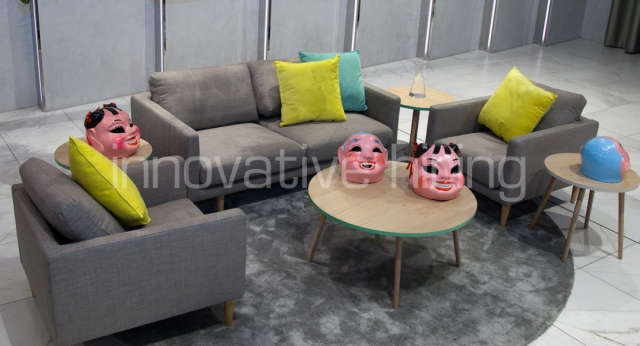 Features: Elwood Sofa & Armchairs