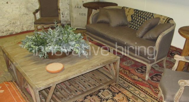 Rustic Lounge Setting