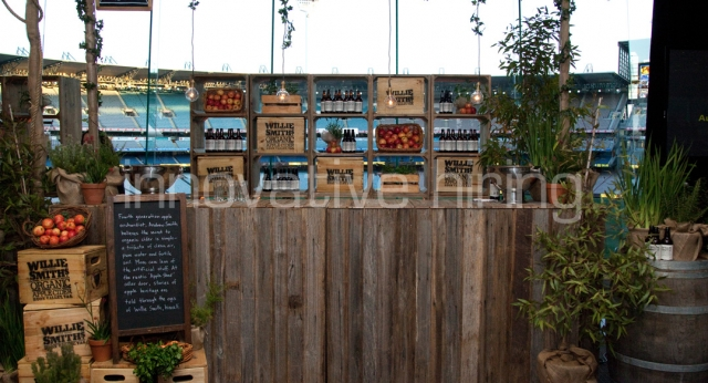 Features: Rustic Wooden Bar
