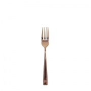 Copper Dessert Fork