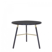 Scandi Blackwash Cafe Table