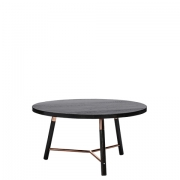Scandi Blackwash Coffee Table