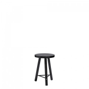 Scandi Blackwash Side Table