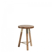 Scandi Natural Low Stool