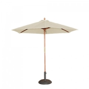 Cream Market Umbrella